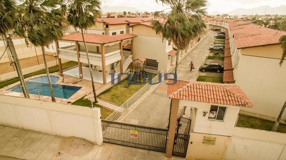 Casa Com 2 Dormitórios À Venda, 54 M² Por R$ 185.000,00 - Siqueira - Fortaleza/ce - Ca0106
