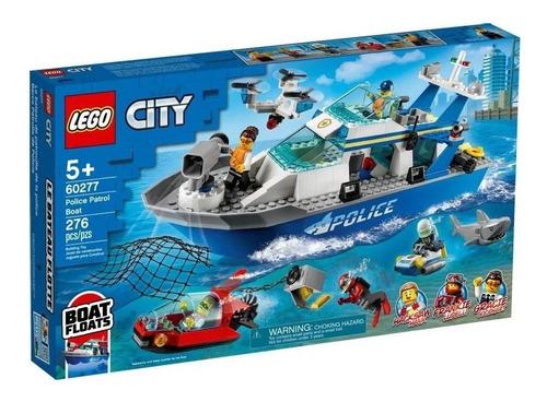 Lego City Adventures - Barco Da Patrulha Da Polícia - 60277