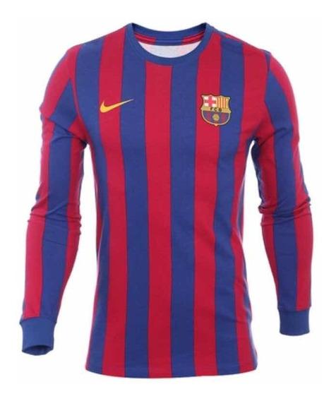 Playera Nike Barcelona Retro (talla L, Xl) 100% Original M/l