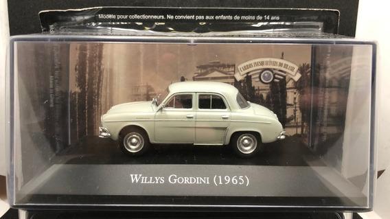 Willys Gordini 1965 1/43 Ixo + Fascículo