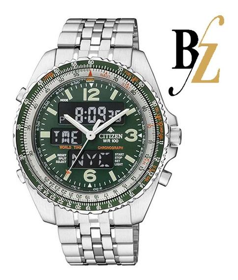 Relógio Citizen Promaster Wingman Masculino Vi Tz10075d