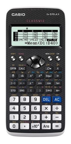 Calculadora Casio - Escuela Y Universidad Fx-570lax