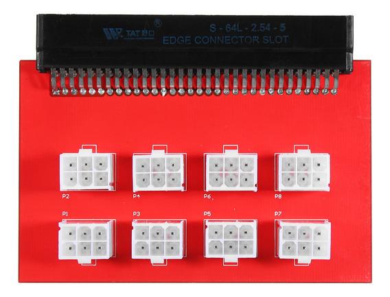 1200w/750 W Psu Breakout Board Para Gpu Open Rig Mineração E