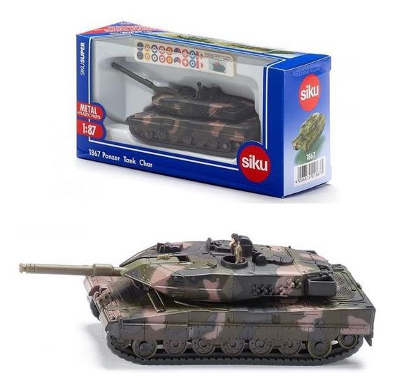 Tanque De Guerra Leopard Ii A6 - Siku 1867 - 1/87 H0