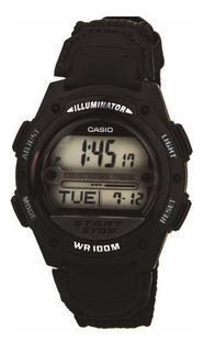 Reloj Casio Hombre Digital W756b 1a 100m Crono Alarm