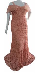 Vestido Tamanho Grande - Madrinha Plus Size Do 44 A 54 Longo