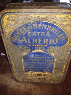 Lata Antigua De Dulce Membrillo 1928