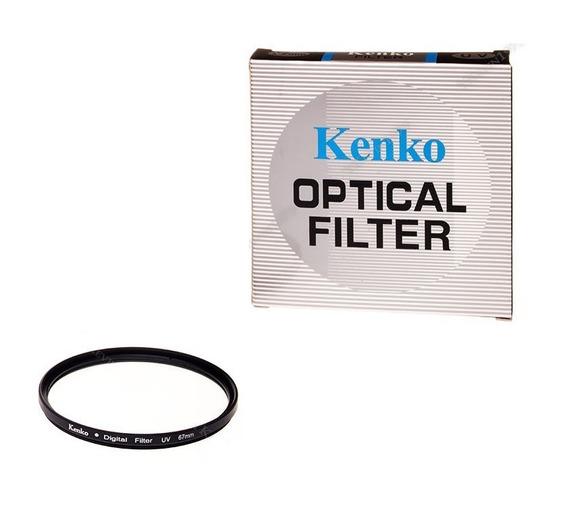 Filtro Uv Kenko Rosca 67mm P/ Lentes Canon Nikon Sony Pentax