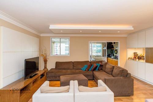 Ótimo Apartamento Garden Com 3 Dormitórios À Venda, 162 M² - Morumbi - São Paulo/sp - Gd0006