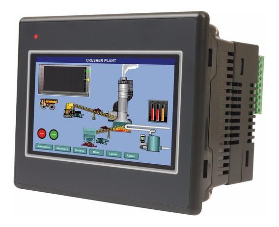 Panel Hmi Plc, Pantalla Touch 4.3 , Comunicación Ethernet