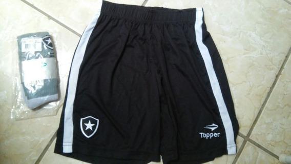 Camisa E Terno Completo Do Botafogo Tam 14 Anos Original