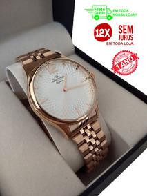 Relógio Feminino Rose Gold! Original Champion!