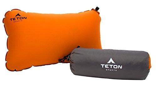 Teton Sports Comfortlite Selfinflating Pillow; Apoye Su Cuel
