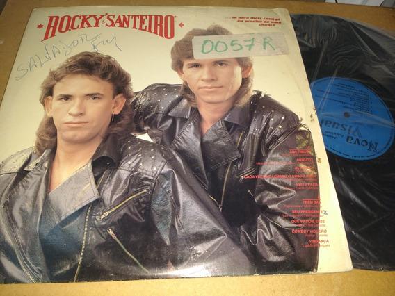 Lp Rocky & Santeiro Sua Timidez 1991 Raridade Sertanejo