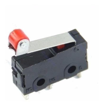04 Pçs Micro Chave Fim De Curso End Stop Switch Impressora