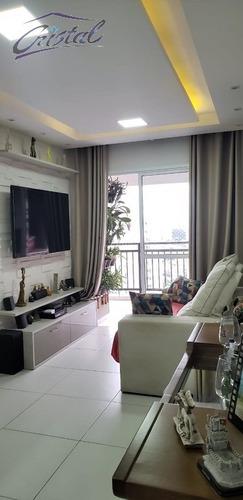 Imagem 1 de 18 de Apartamento Para Venda, 2 Dormitórios, Vila Gomes - São Paulo - 23078