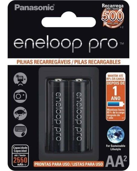 Pilha Aa Panasonic Recarregável Pro 500
