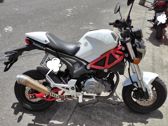 Motocicleta Diavolo 169cc - Motor 1 Año 2018