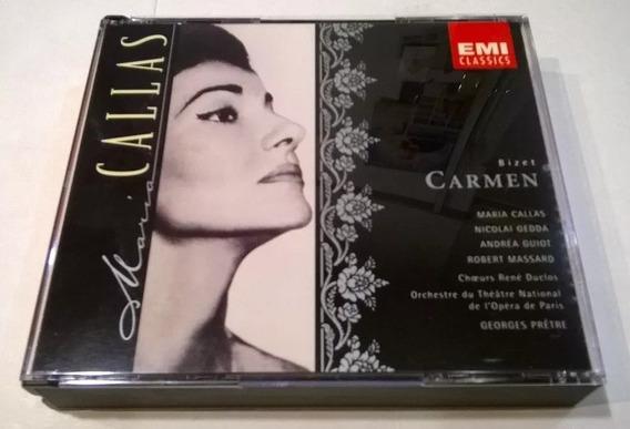 Carmen, Georges Bizet María Callas 2cd 1997 Made In Holland
