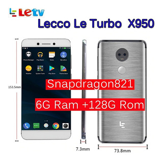 Leeco Letv Le X950 Turbo 6gb 128gb Silver 4g Global Version