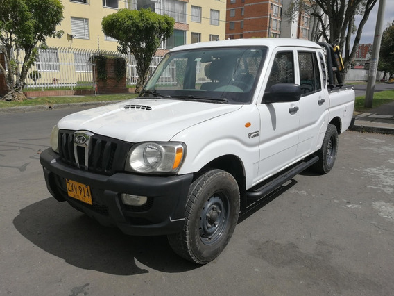 Mahindra Pick Up 4x2 Mt2200cc Blanco Aa Dh