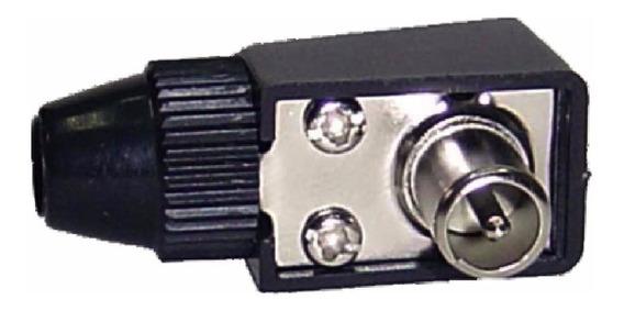 Conector F Macho 75 Ohms Pin Grueso Ja
