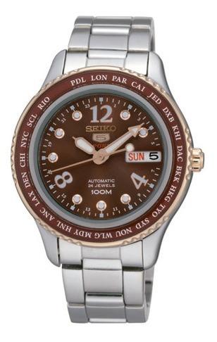 Reloj Seiko Srp370k1 Para Dama Ext De Acero