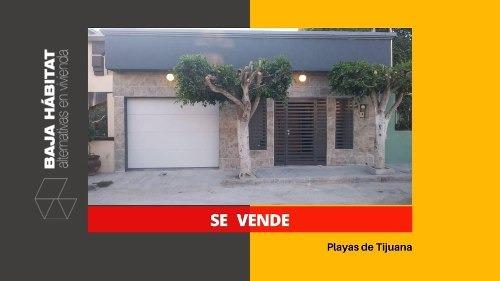 ¿ Venta Casa Playas De Tijuana 3 Recamaras ¿