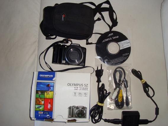 Câmera Digital Olympus Nc Sz-31mr Completa, 16 Mp, Full Hd