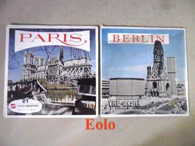 View Master 3d - Paris E Berlin (6 Discos) Estereoscopia