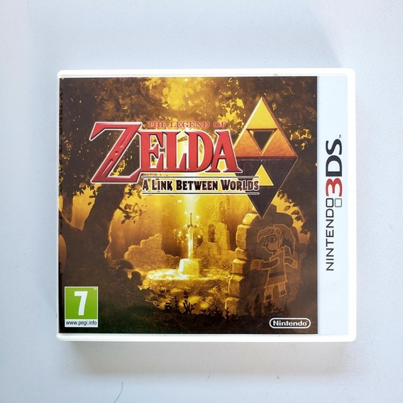 The Legend Of Zelda A Link Between Worlds 3ds 2ds Europeu