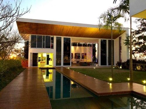Casa Com 6 Dormitórios À Venda, 700 M² Por R$ 3.950.000,00 - Condomínio Terras Do Imperador - Americana/sp - Ca0431