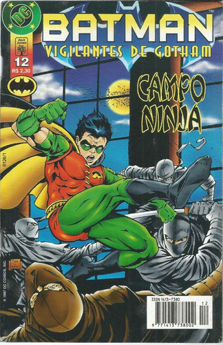 Imagem 1 de 5 de Batman Vigilantes De Gotham 12