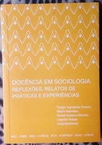 Livro - Docência Em Sociologia