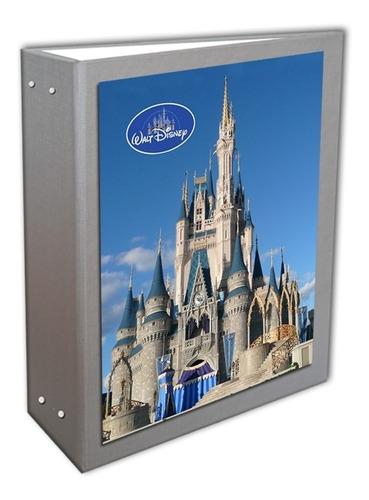 Álbum Castelo Disney Prata 10 X 15 - 240  Fotos + Brinde
