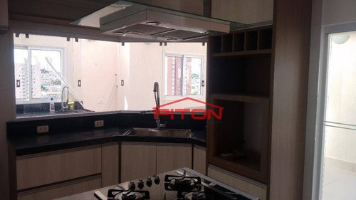 Apartamento Com 2 Dormitórios À Venda, 106 M² Por R$ 690.000,00 - Vila Esperança - São Paulo/sp - Ap1362