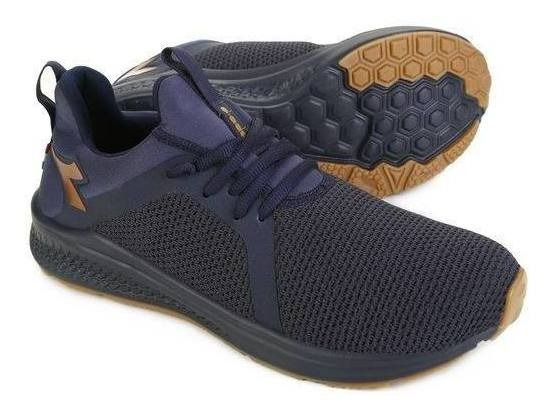 Tênis Diadora Spin Masculino 25541 Azul/preto