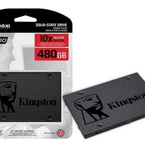 Hd Ssd 480gb 2.5 Sata Rev. 3.0 6gb/s A400 Kingston