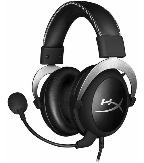 Hyperx Gaming Headset Cloud Silver Ps4, Xbox One E Pc