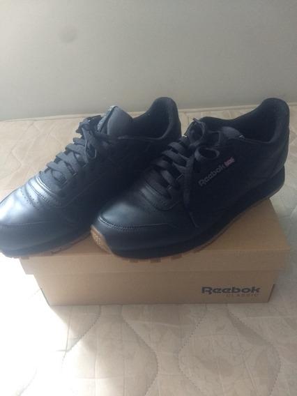 Tênis Reebok Classic Leather Preto