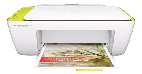 Imagem 1 de 2 de Impressora a cor multifuncional HP Deskjet Ink Advantage 2135 branca 110V/220V