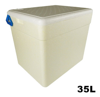 Caixa Térmica De 35 Litros Isoterm Com Alça