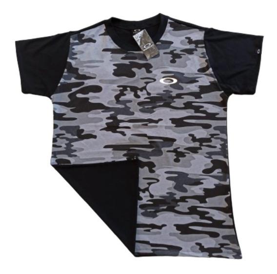 Camisa Shirt-t Oakley Refletiva Olho De Gato Envio Rapido