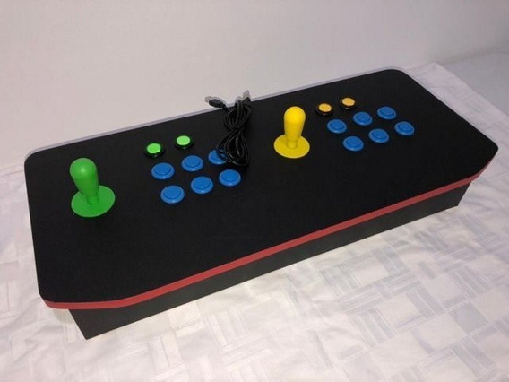 Controle Playstation Arcade Para Pc E Playstation 3 Usb