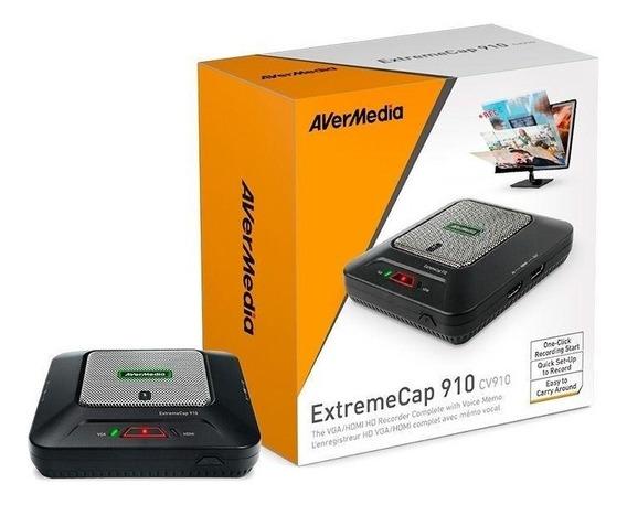 Placa De Captura Avermedia Extreme Cap 910 Pronta Entrega
