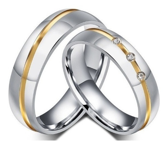 Aliança Anel Compromisso Par De Noivado Romântico Namoro