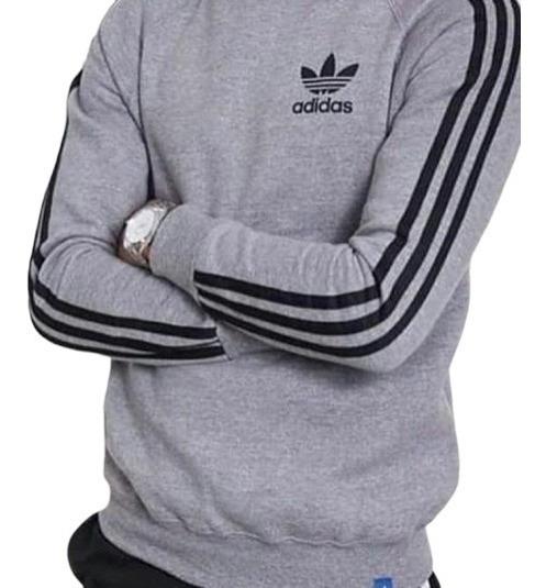 Buzo Adidas Retro Hombre Original Buzos y Hoodies Sin