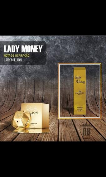 Perfume Feminino De Bolso Lady Money Amakha Paris