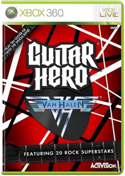 Guitar Hero Van Halen Xbox 360 Original Frete R$12