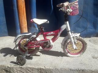 Bici Raleight Para Nena Rodado 12 Casi Nueva